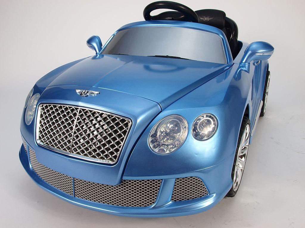 ChuChu Bentley Continental GT, modrá metalíza, licence, dálkové ovládání, 12V