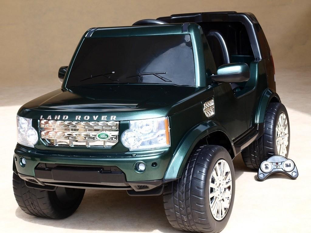 ChuChu Land Rover Discovery 4 s dálkovým ovládáním, licence, 6V
