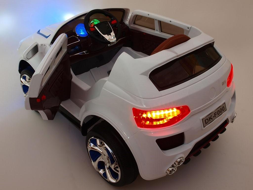ChuChu Superdžíp s otevíracími dveřmi, pérováním a polstrovanou sedačkou, DO, bílý