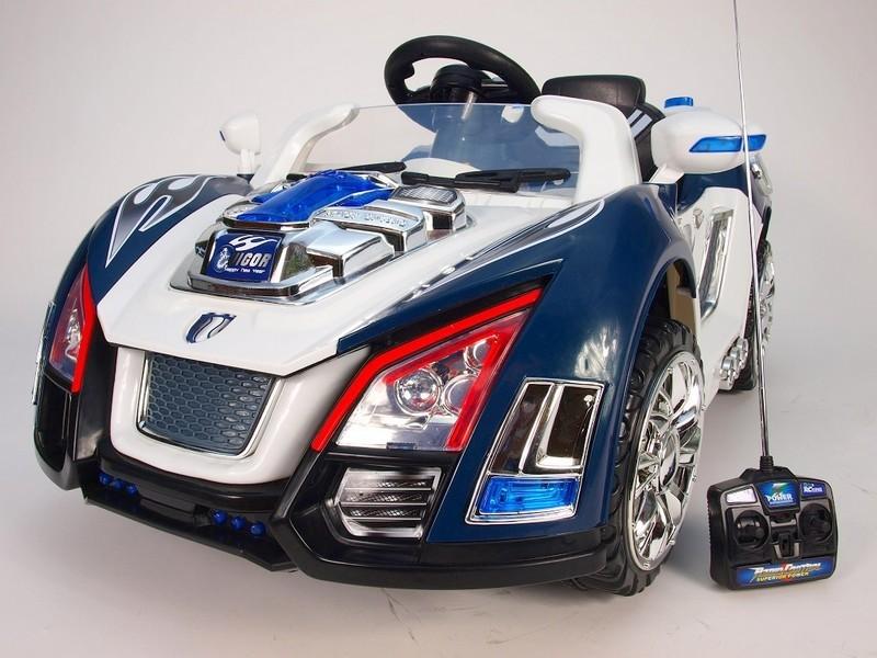 ChuChu Elektrické auto Crazycars, včetně DO, 12V, LED osvětlení