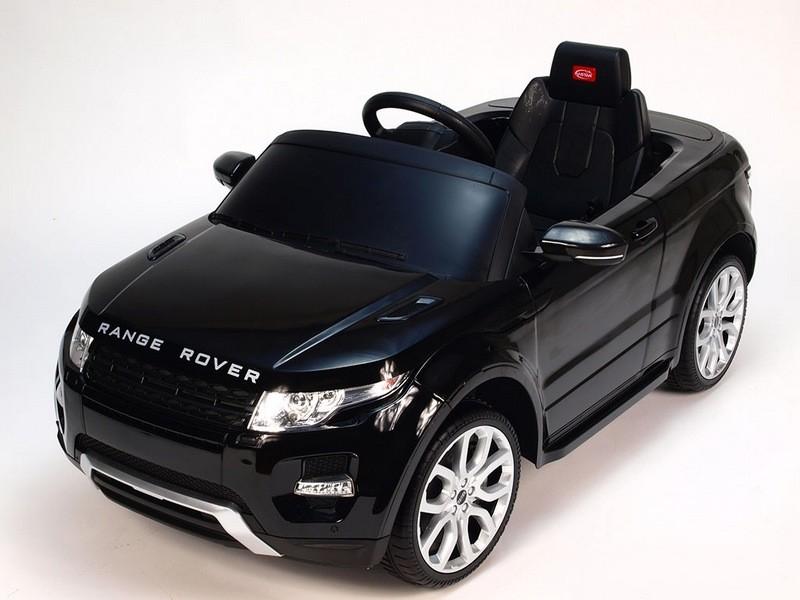 ChuChu Elektrické autíčko Range Rover Evoque, originální s DO, černé