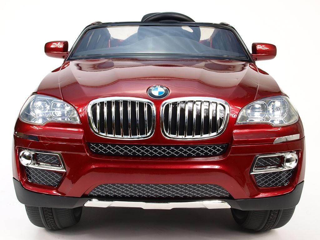 ChuChu BMW X6 s DO, lakovaná vínová metalíza, otevírací dveře, licence