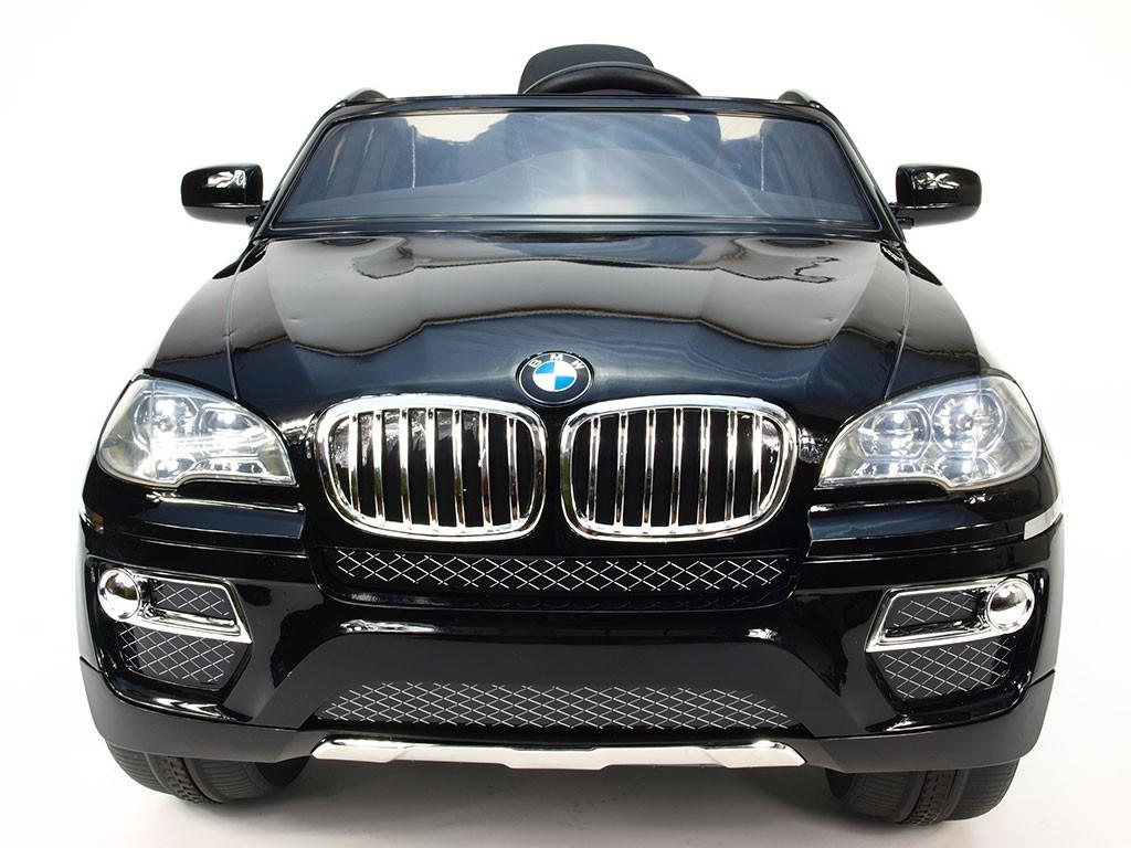 ChuChu BMW X6 s DO, černé lakované, otevírací dveře, licence