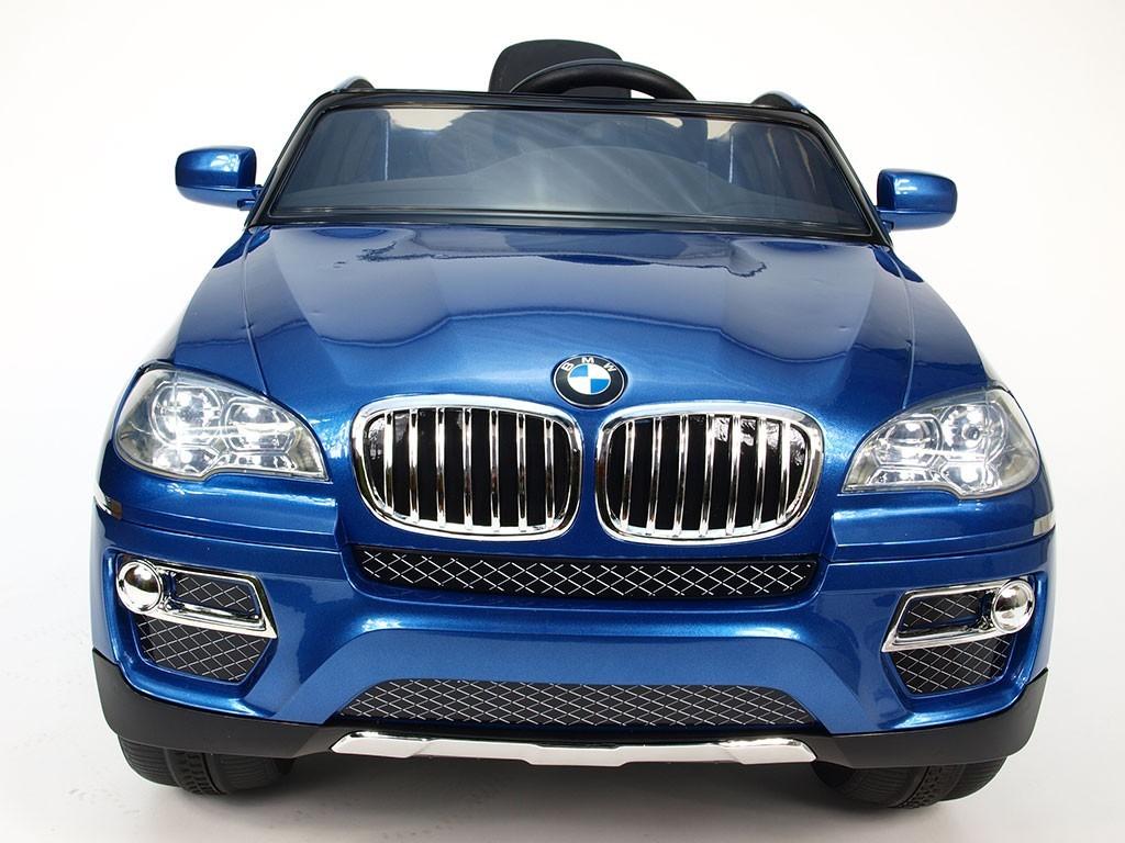 ChuChu BMW X6 s DO, lakovaná modrá metalíza, otevírací dveře, licence