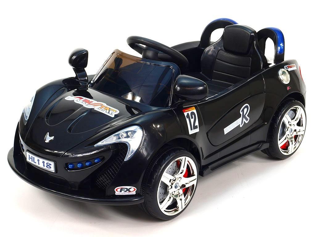 ChuChu Nikeautíčko s DO, pro nejmenší, 2 motory, 6V, černé