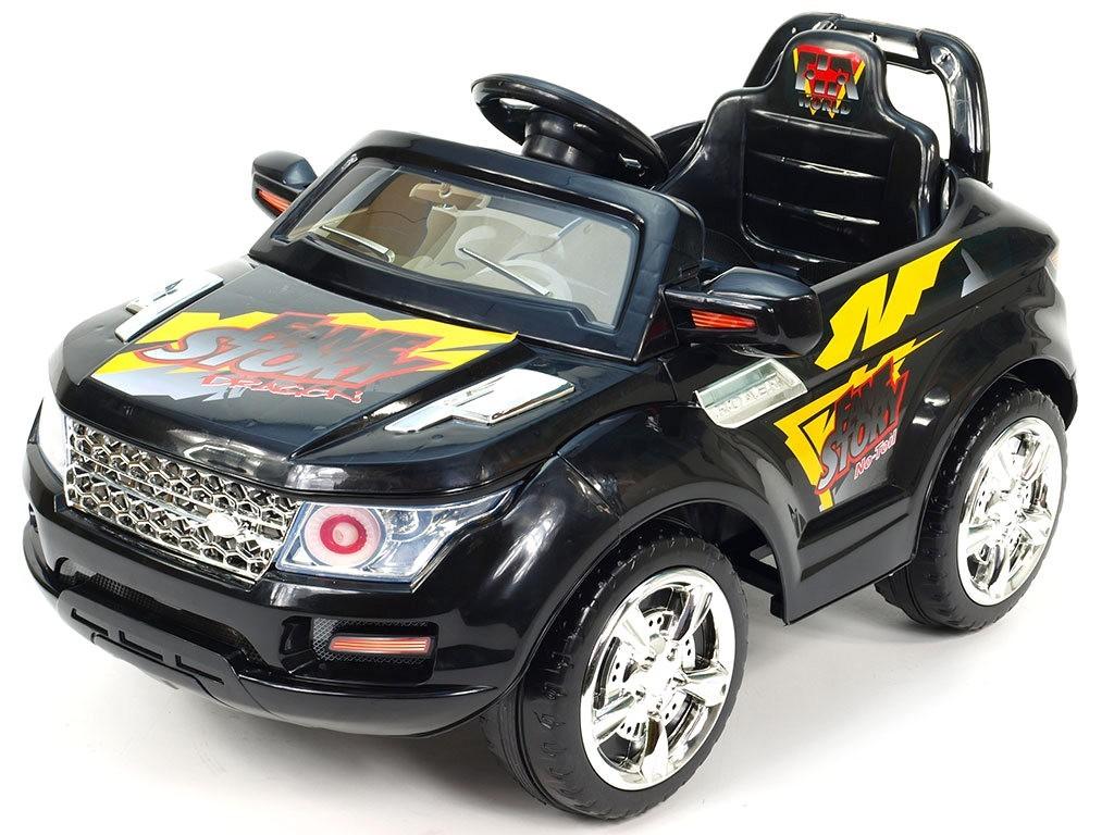 ChuChu Elektrické SUV Roverek mini s DO, 2 motory, 12V, černé