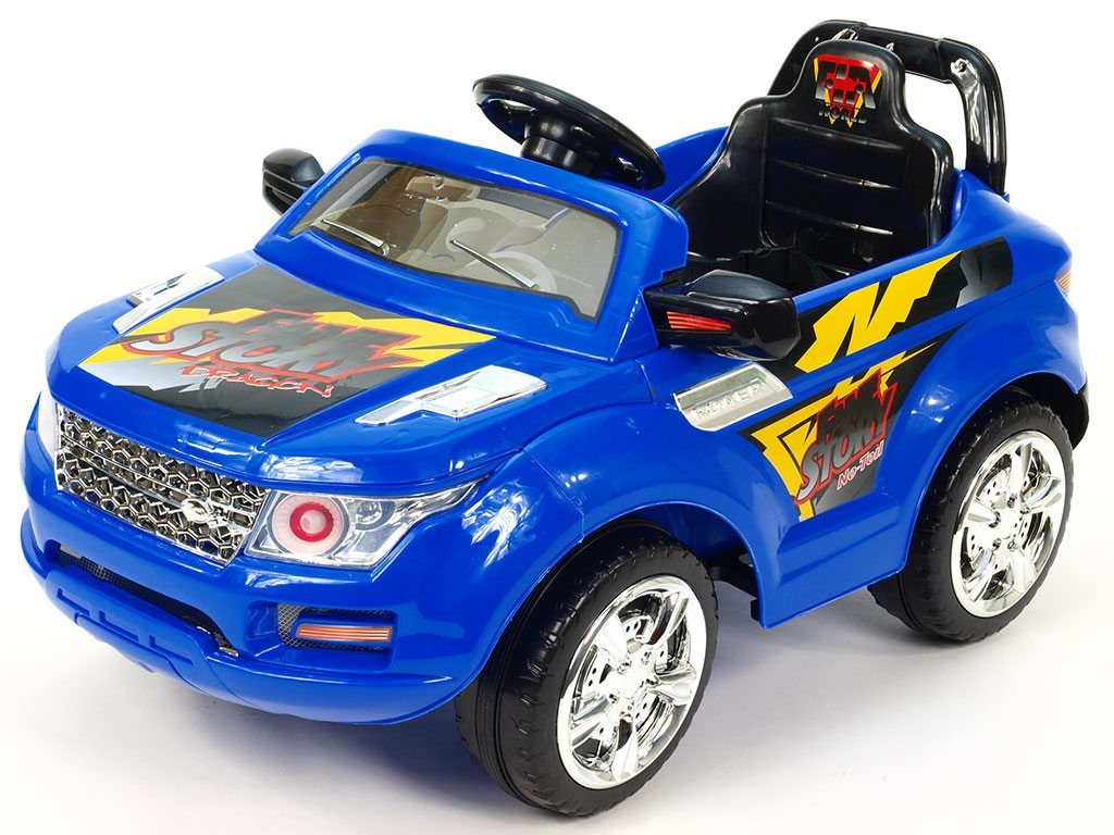 ChuChu Elektrické SUV Roverek mini s DO, 2 motory, 12V, modré