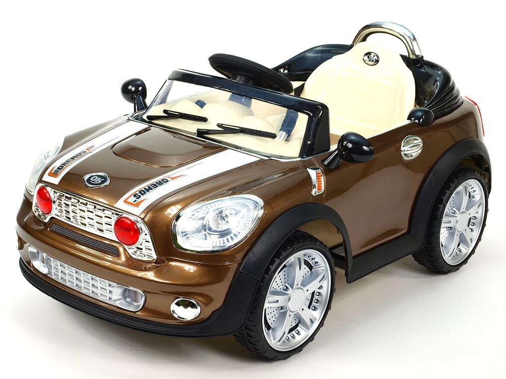 ChuChu Elektrické autíčko Morísek, hnědo bronzová lakovaná metalíza, včetně DO, 12V
