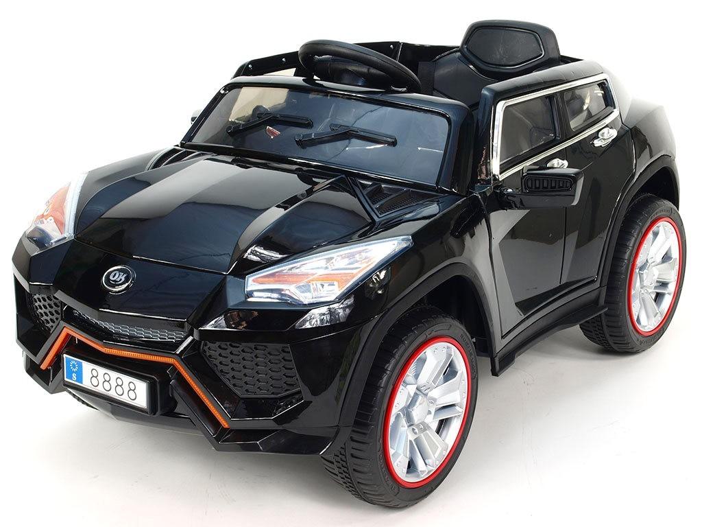 ChuChu Luxusní SUV BRUTUS, otevírací dveře, 12V, černé lakované