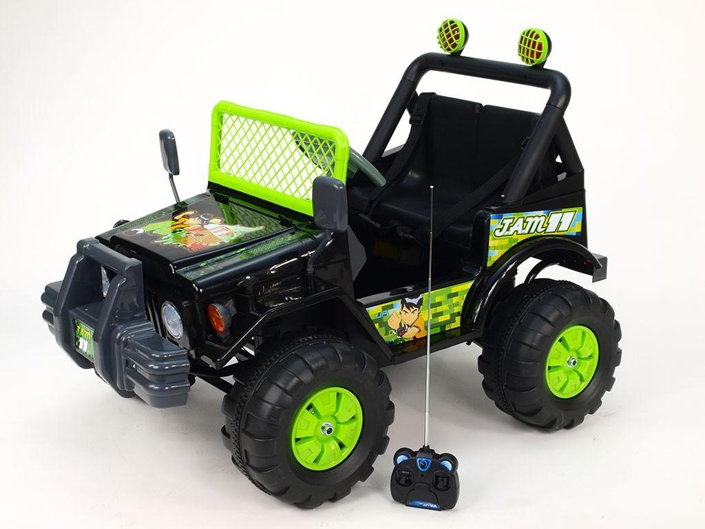 ChuChu Bakugan mohutný džíp s DO, 12V, 2 motory, sedačka pro dvě menší děti