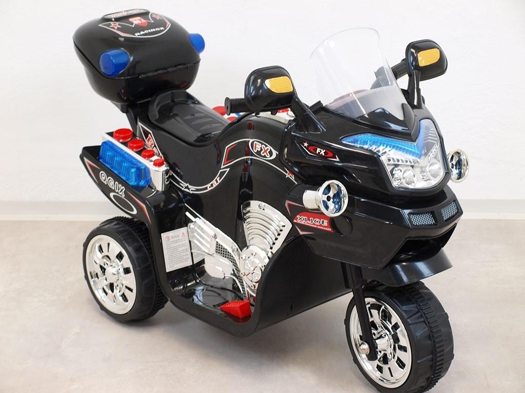 ChuChu Elektrická motorka FV střední, LED, 6V