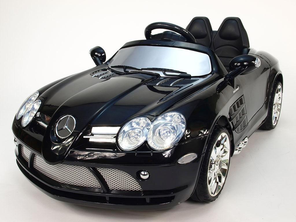 ChuChu Mercedes-Benz SLR McLaren R199 originální s DO, černý